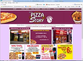 Pizza Story Villeurbanne