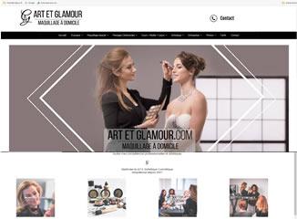 Art et Glamour, maquillage