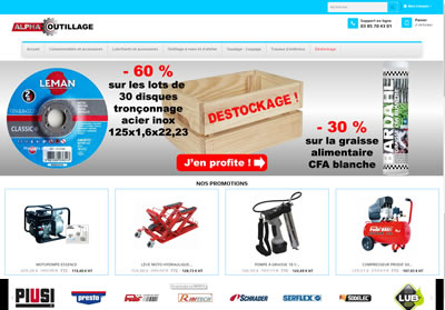 Site e-commerce Prestashop